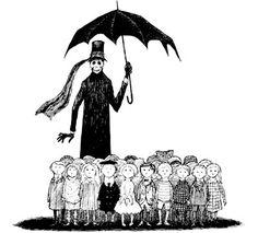 El macabro mundo de Edward Gorey