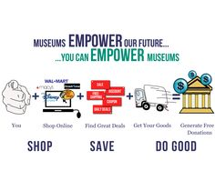 Shop for Museums completes online purchases with a donation from the sales to a museum of your choice. Learn how to make a difference with the site. Zoos, Historical Society, Say Hello, Organizations, Helping Others, Museums, Keep It Cleaner, Parks, Life Hacks