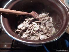 Krémová šampiňónová polievka Stuffed Mushrooms, Vegetables, Food, Stuff Mushrooms, Essen, Vegetable Recipes, Meals, Yemek, Veggies