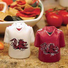 South Carolina Gamecocks Gameday Salt and Pepper Shakers #ColonialLifeArena #CLAevents #FamouslyHot #ColumbiaSC #SCTweets #CLAambassador #Gamecocks