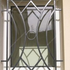 Discover recipes, home ideas, style inspiration and other ideas to try. Window Grill Design Modern, Grill Gate Design, Railing Design, Window Design, Window Security Bars, Metal Windows, Modern Windows, Balcony Grill, Window Bars