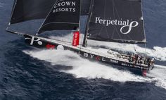 ANTHONY BELL'S PERPETUAL LOYAL (AUS) SAILING OFF SYDNEY Photo:  Rolex / Stefano Gattini