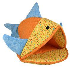 Amazon.com : Kookamunga Funky Fish Cat Bed : Pet Supplies