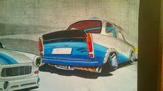 Trabant 601 rear
