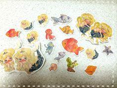 *人魚姫シールセット*