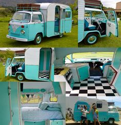 "1976 VW AutoVilla ""Gypsy Girl"" camper"