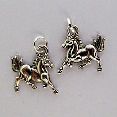Show Horse...bottle and/or wine glass charm