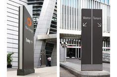 The Energy 办公大楼导向标识系统设计(原图尺寸:600x399px)