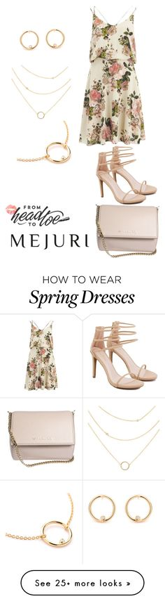 """""""Mejuri Contest"""" by caitlinbc on Polyvore featuring VILA, Akira, Givenchy and jenchaexmejuri"""