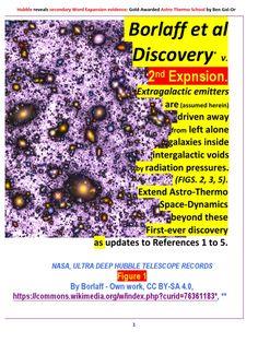 I'm reading Borlaff Et Al Discovery_ v. the Expansion, Astro-Thermo, Edition on Scribd Helix Nebula, Orion Nebula, Andromeda Galaxy, Carina Nebula, Hubble Ultra Deep Field, Galaxies, Nebulas, Expanding Universe, Philosophy Books