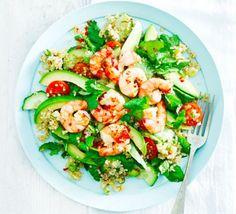 Asian prawn & quinoa salad