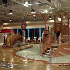 Circle M Campground in Lancaster, PA - they have an indoor waterpark! Jody-- this looks fun fun fun !!