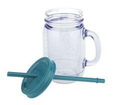 Aladdin Set of 4 20 oz Insulated Mason Jar Tumblers — QVC.com - love these