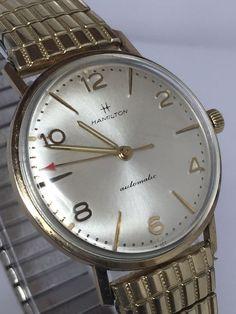 Hamilton Automatic Swiss Vintage Men's 10kt R.G.P Watch (#N410) #Hamilton