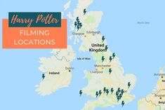 Map of all the Harry Potter filming locations. Learn more about the more than 50 filming locations you can visit in the UK and Ireland. Gloucester Cathedral, Durham Cathedral, Harry Potter Filming Locations, Deathly Hallows Part 1, Literary Travel, Alnwick Castle, Ministry Of Magic, The Cloisters, Scotland Travel