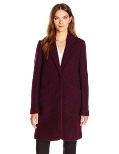 Marc New York by Andrew Marc Women's Paige, Burgundy, 2