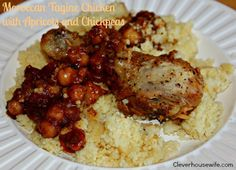 Moroccan Tagine Chicken - One of THE best meals I have ever made!
