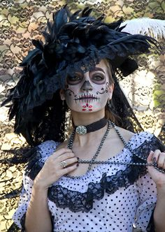 Sugar Skull in the Cemetary XIV by Ziggy Lives, via Flickr
