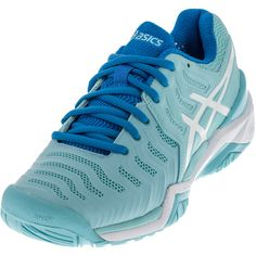 The ASICS Women's Gel Resolution 7 Tennis Shoes are the 2017 version of the highly regarded and highly worn class. This updated model features the same emphasis on the midfoot support while maintaining comfort during on-court performance. In addition to the updated midsole, ASICS has innovated gender-specific cushioning, making these shoes more comfortable for you.