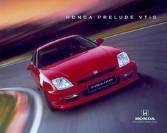 Honda Prelude Mk5 VTiS Spain Brochure 1997