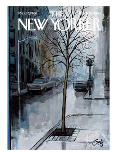 The New Yorker Cover - March 12, 1966 Poster Print by Arthur Getz at the Condé Nast Collection