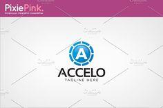 Accelo Logo Templates by Intenseartisan on @creativemarket