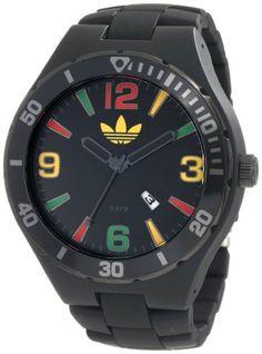 Adidas Men's Adh2646 Melbourne Black Watch - http://www.specialdaysgift.com/adidas-mens-adh2646-melbourne-black-watch/