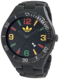 Adidas Men's Adh2646 Melbourne Black Watch - http://www.specialdaysgift.com/adidas-mens-adh2646-melbourne-black-watch/