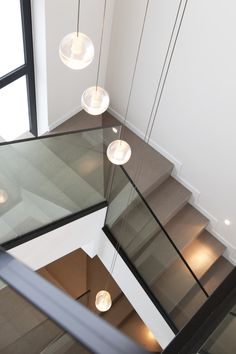 Detalle escalera en vivienda