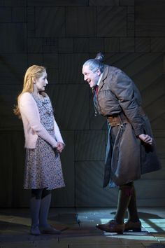 Matilda the Musical - Miss Honey and Miss Trunchbull