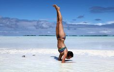 """Is there anything that can't be improved by yoga? """"Inversion poses, such as headstands, handstands and shoulder stands, can produce a natural facelift and other youth-giving properties."""""""