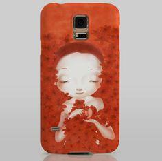FLORES Smartphone case Samsung S5 Teresa Ramos