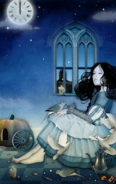 Cinderella by aszuba http://media-cache-ec3.pinimg.com/550x/7d/2e/cb/7d2ecbba256bd6791924090ff92fd573.jpg (Thx Connie)