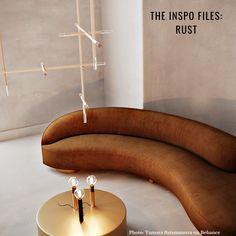 Small Apartment Design: The Ultimate Beginner's Guide Ver. Sofa Furniture, Furniture Design, Interior Inspiration, Room Inspiration, Neoclassical Interior, Room Interior, Interior Design, Small Apartment Design, Curved Sofa