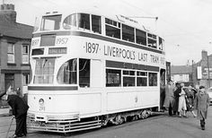 This was the 6A when I traveled on it the day before its last run to Bowring Park Liverpool.