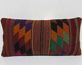 kilim pillow couch pillow cover lumbar pillow kilim cushion cover rustic bedroom turkish pillow case burlap throw pillow turkish rugs 30085