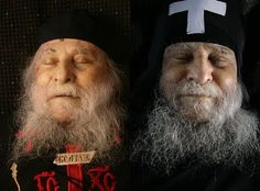 The smile, from eternity, of Blessed Elder Joseph of the Holy and Great Monastery of Vatopedi on Mount Athos .