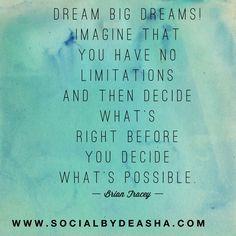 #motivation #dreambig