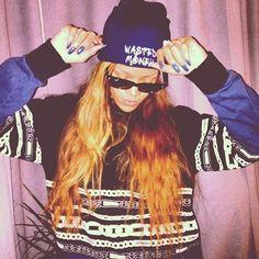 #Rihanna #riri #swag #badgirl