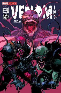 The Amazing Spider-Man/Venom: Venom Inc. Alpha #1 (2017) Unknown Comics Books/Boom Comics Store Exclusive Variant Cover by Leinil Francis Yu