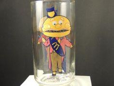 Kitchen - KCHN00131 - Vintage McDonald's Collectors Glass - Mayor McCheese