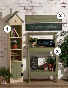 """The Best Country Decorating Ideas. I love handpainted signs. """"May all your weeds be wildflowers!"""""""