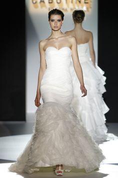 Barcelona bridal week. Diseño: Cabotine