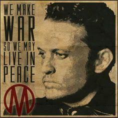 Revolution TV Show monroe republic | nbc revolution we make war so we may live in peace # monroe revolution