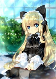 Gosick | Victorique de Blois | Golden Fairy | Gray Wolf | Monstre Charmant…