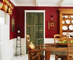 Cottage Style Dining Rooms | Interior Design} Cottage-Style Rooms | Sally Lee by the Sea