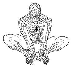 Spider Man Unlimited Coloring Pages. Superhero Coloring Pages Spider Man Happy Birthday  SPIDERMAN COLORING