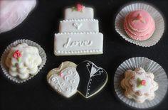 Hochzeitskekse Sugar, Cookies, Desserts, Wedding, Food, Wedding Cakes, Pies, Crack Crackers, Tailgate Desserts