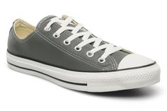 Chuck Taylor All Star Leather Ox M by Converse (Grey)