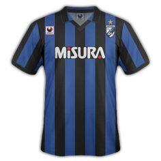 Inter Milan home shirt for Football Kits, Milan, 1980s, Sports, Tops, Fashion, T Shirts, Anos 80, Hs Sports